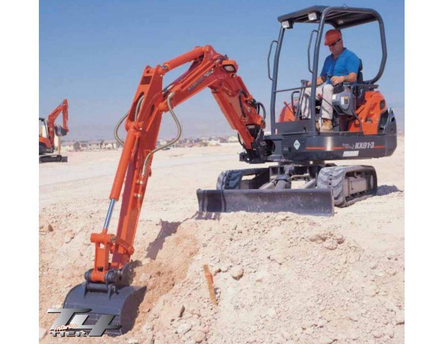 Kubota KX91-3HGLS2 Canopy Excavator