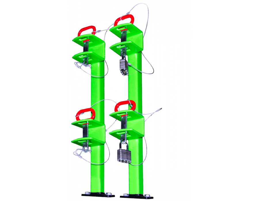 Green Touch Classic Series Two Position Trimmer Rack LA011 for Open Trailers