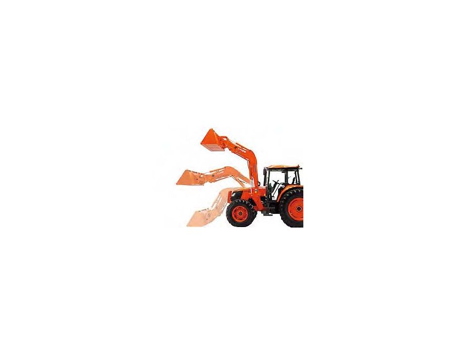 Two separate boom cylinder fulcrum points (Power position and Height position) give you the option to increase the loader's lifting power or height based on your needs.
