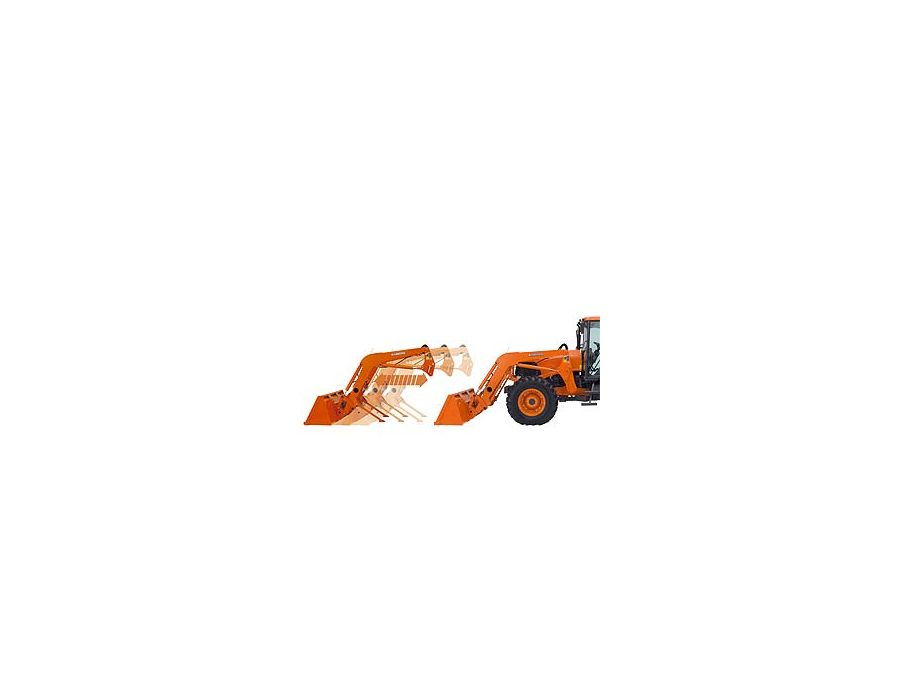 Attaching and detaching the front loader doesn't get easier, thanks to boom stands and two mounting pins. With easy-on and easy-off simplicity, and without tools, this feature is sure to contribute to your overall operating efficiency.