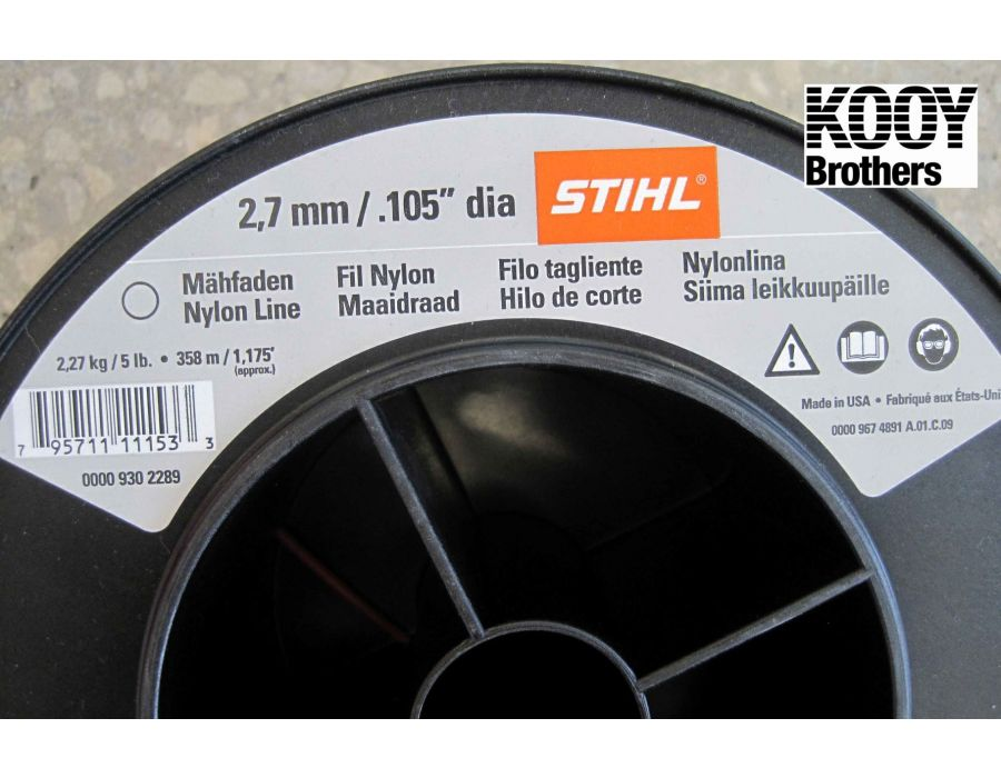 STIHL .105 Trimmer Line 5lb Roll