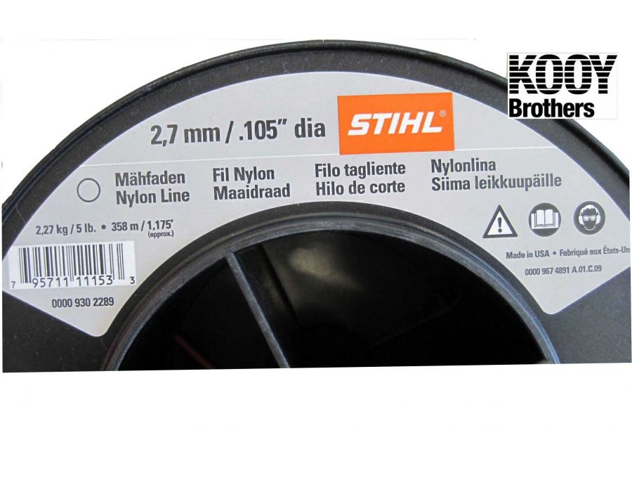 Stihl .105 Replacement Trimmer Line