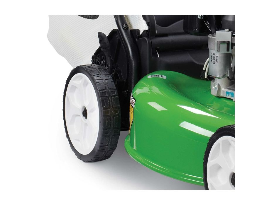Rear Wheel Drive Self-Propel - Variable-speed rear wheel drive provides improved traction and control in all mowing conditions.