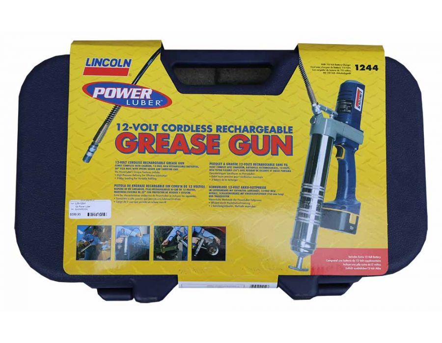 Lincoln 1244 Grease Gun Details