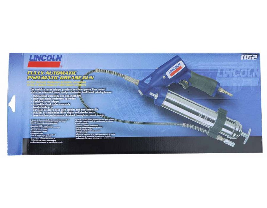 Lincoln Fully Automatic Pneumatic Grease Gun