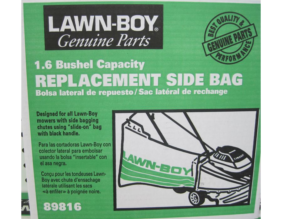 replacement side bag for lawnboy mower