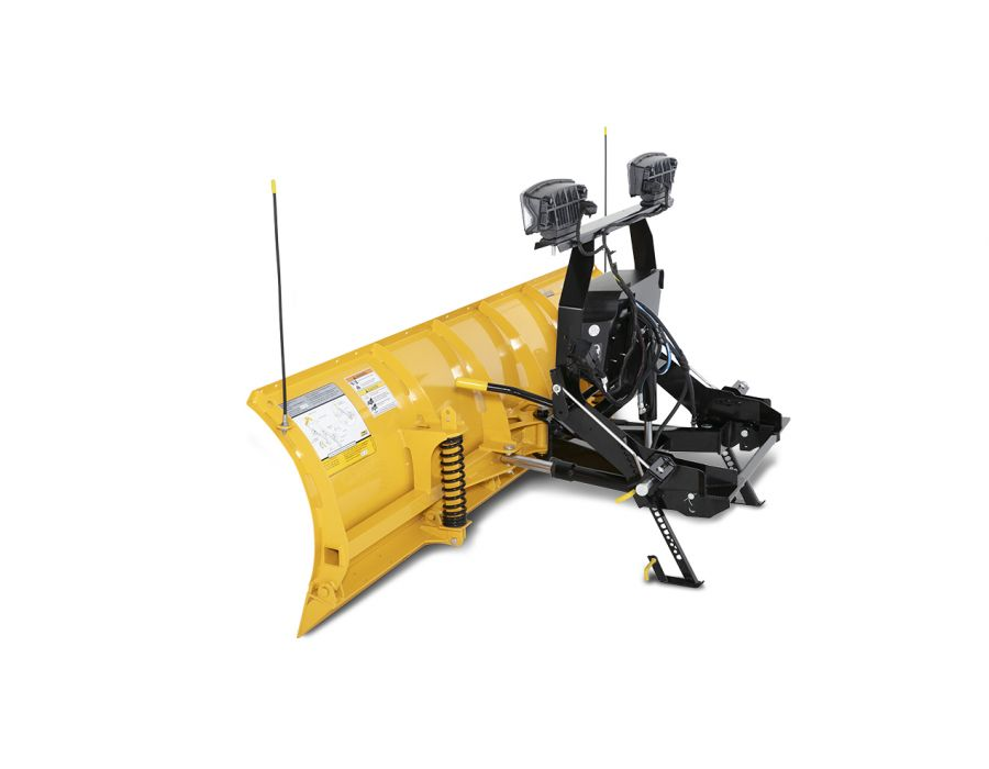 """Fisher 7'5"""" HT MS Plow Side-View"""