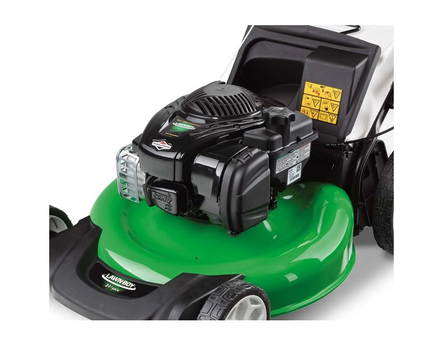 Powerful, reliable and easy to start Briggs & Stratton® engine with no oil changes required.