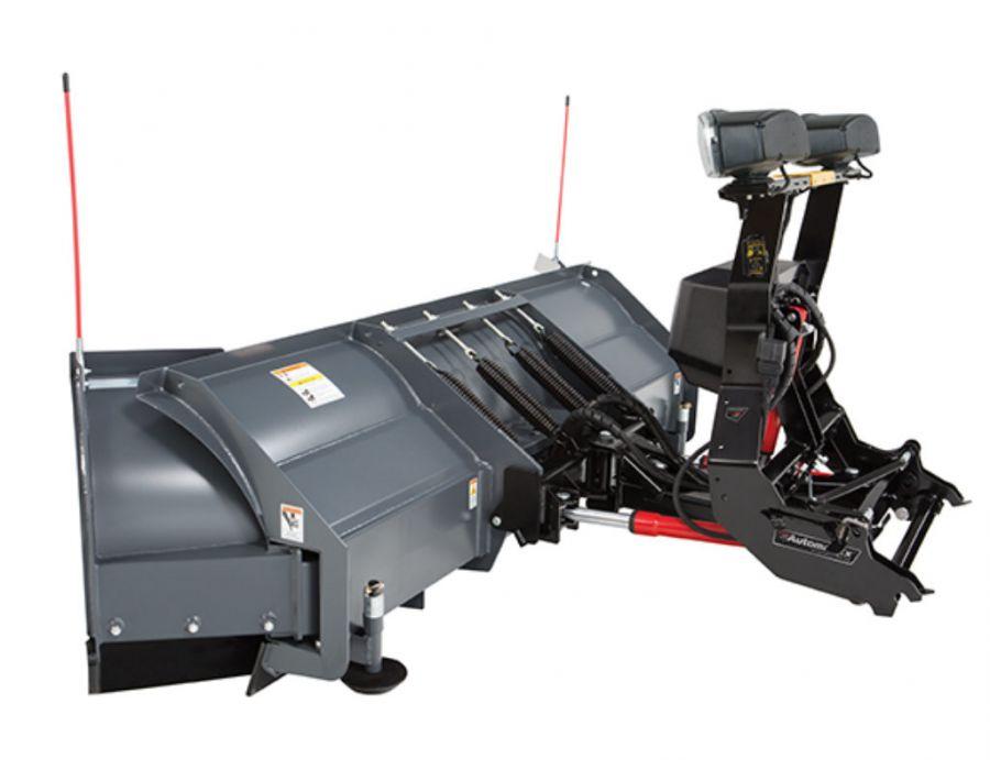 SnowEx 8100 Power Plow 8'-10' Side-View