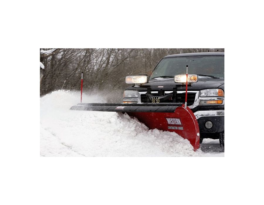 Built for heavy-duty commercial and light municipal snow plowing