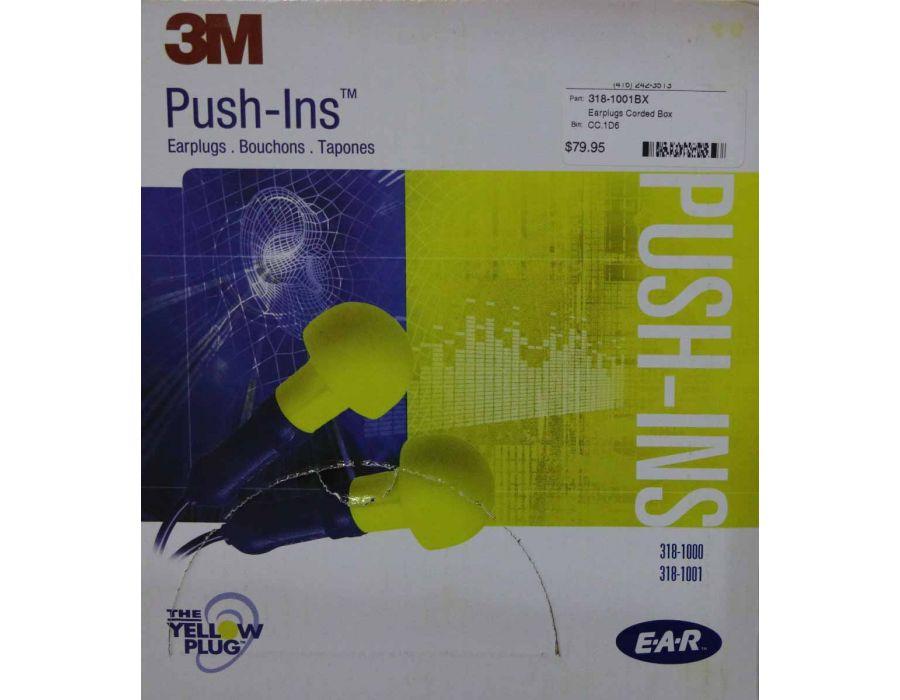3M Push-In Earplugs