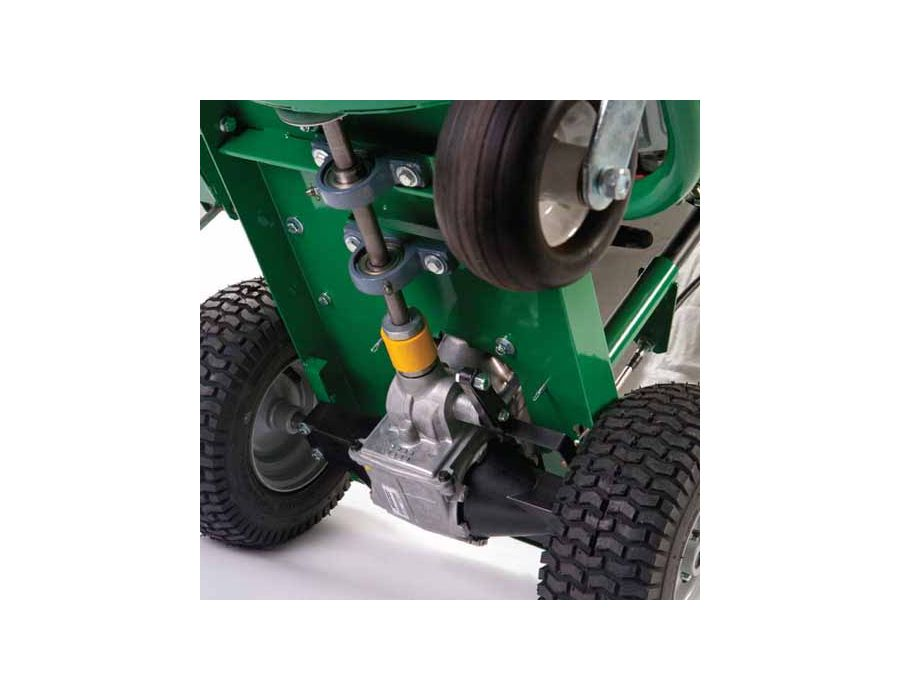 Hydrostatic Drive Option - Self-propelled hydrostatic drive from 0-3 mph with infinite forward and reverse.