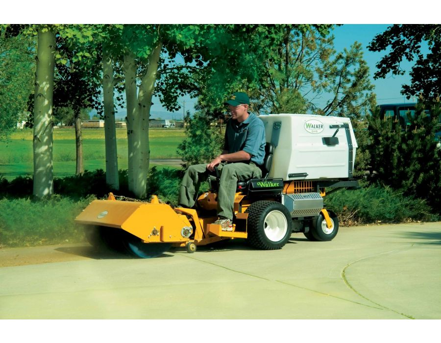 Ideal for sweeping debris on hard surfaces