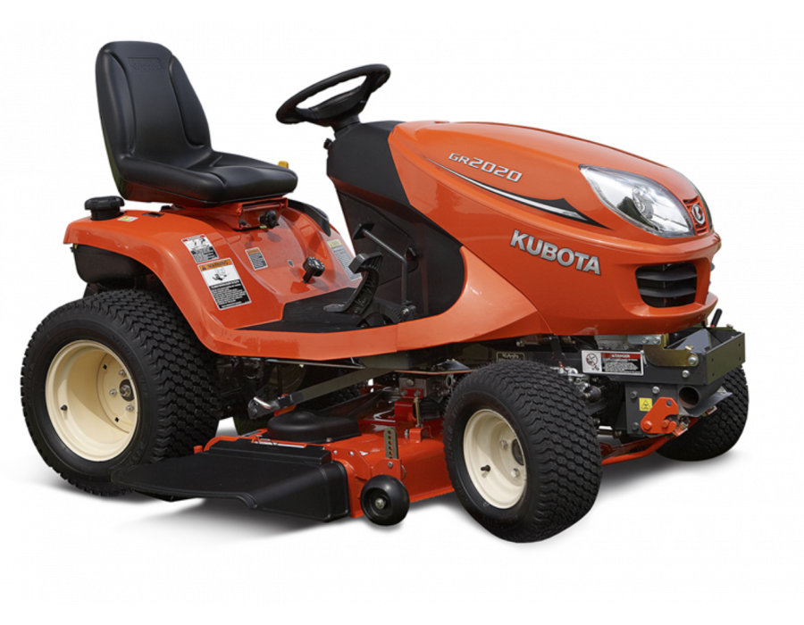 Kubota 20hp Gas Gr2020 Lawn And Garden Tractor Lawn Equipment Snow Removal Equipment Construction Equipment Toronto Ontario Kooy Brothers