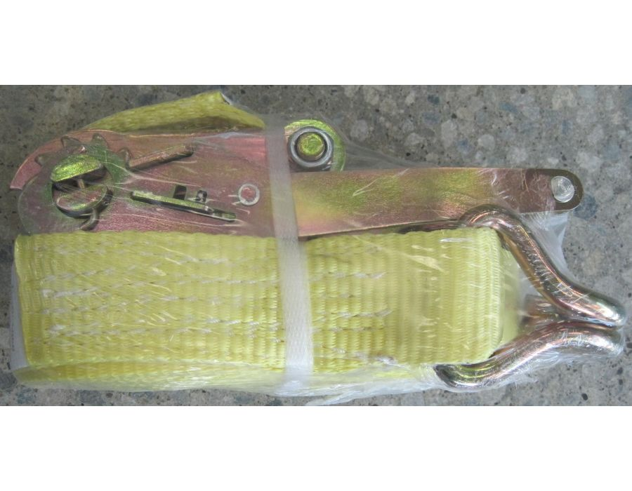 Yellow Ratchet Strap 2 inch x 27 feet