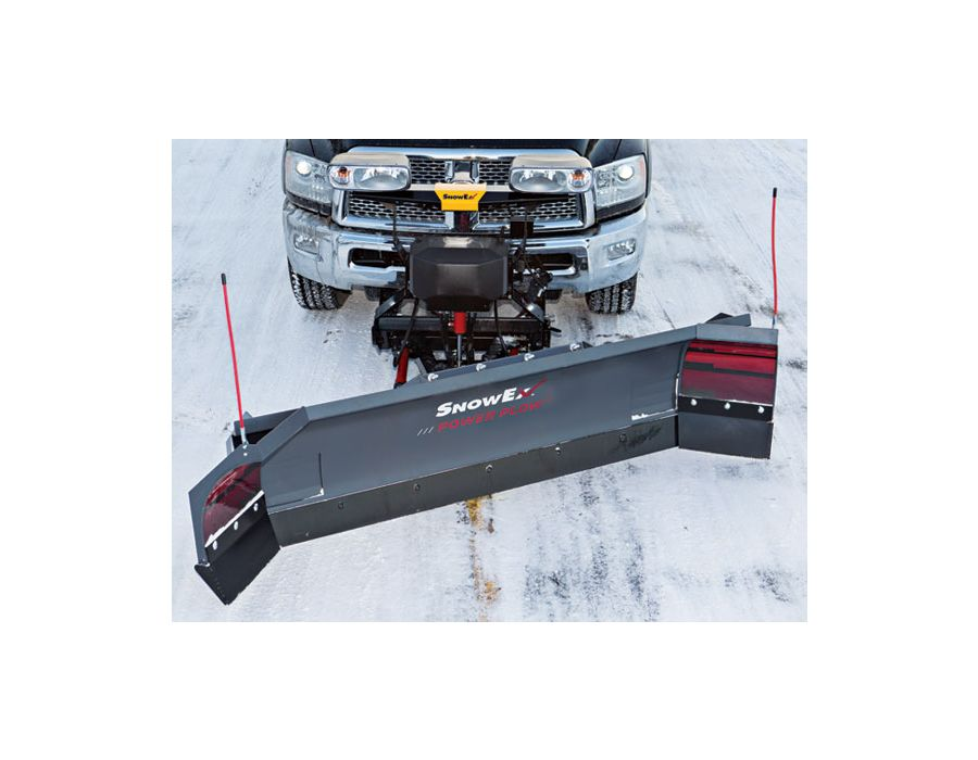 Cornering performance - Fully angle while in scoop position to maintain a full load of snow when maneuvering around obstacles.