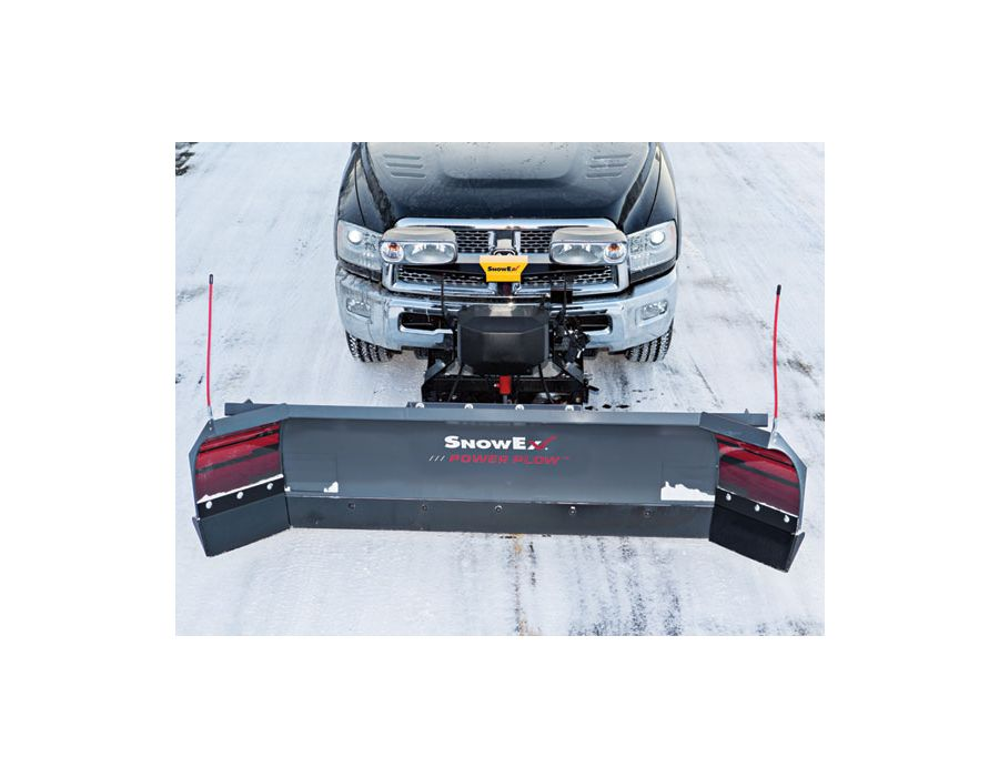 Bucket Blade Scoop Mode - Angle the wings forward to put the POWER PLOW in scoop mode and carry up to 30% more snow with every pass.