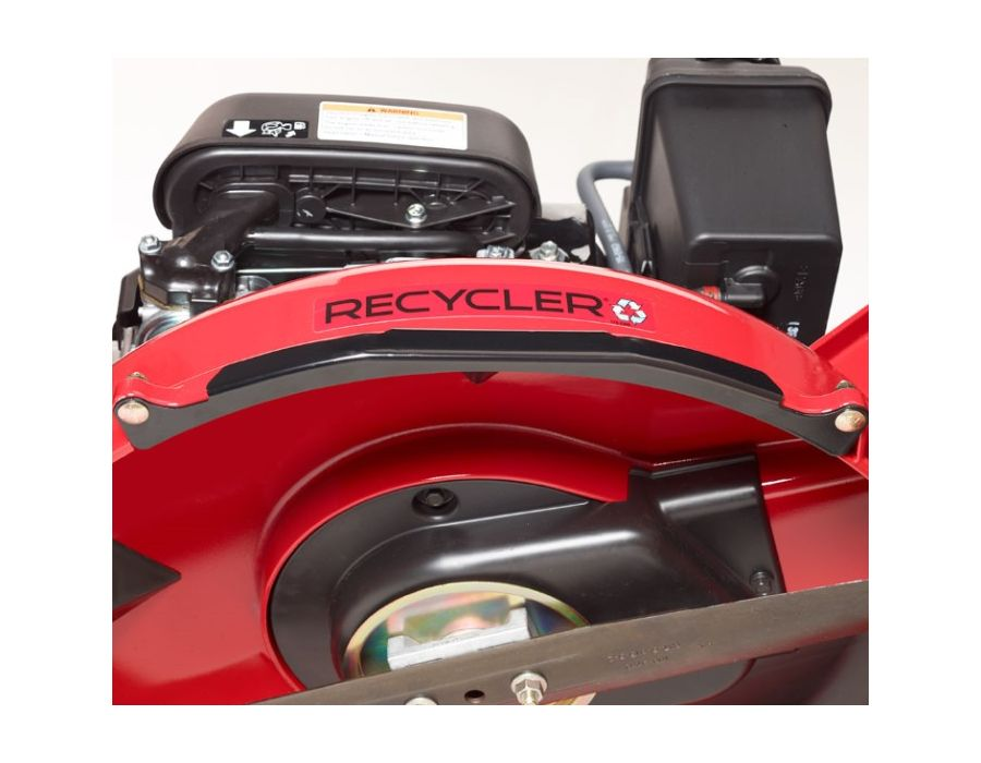 Extend the life of your mower deck with replaceable steel wear plates that protect against bottom and side impacts.