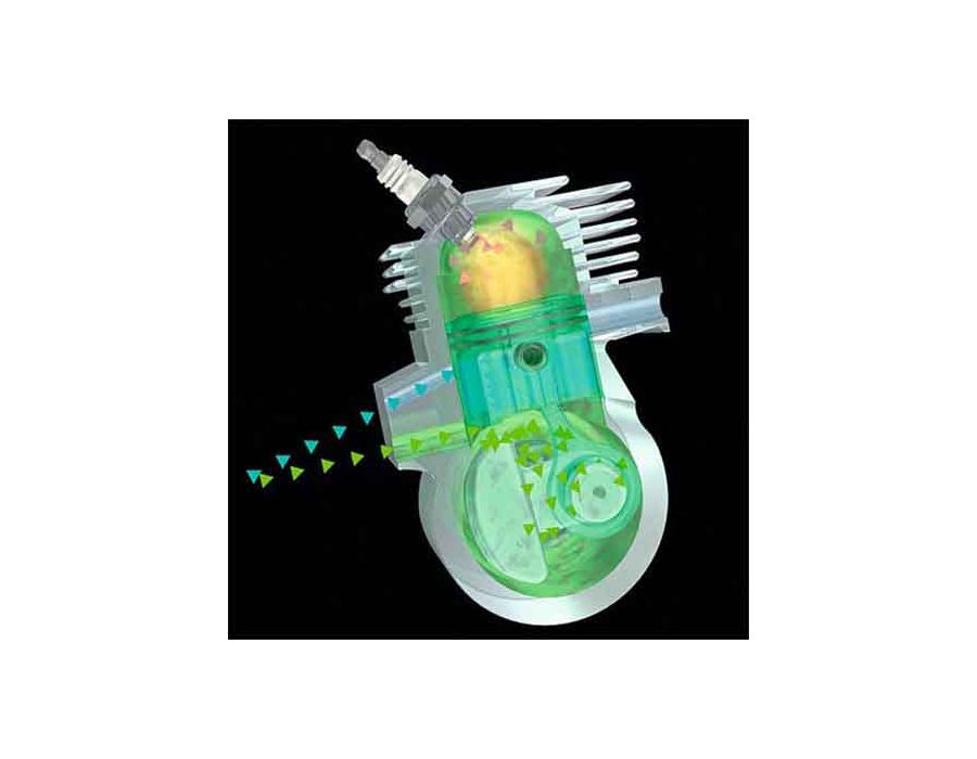 STIHL FS 94 R Straight Shaft Brushcutter with EcoSpeed 24 1cc engine