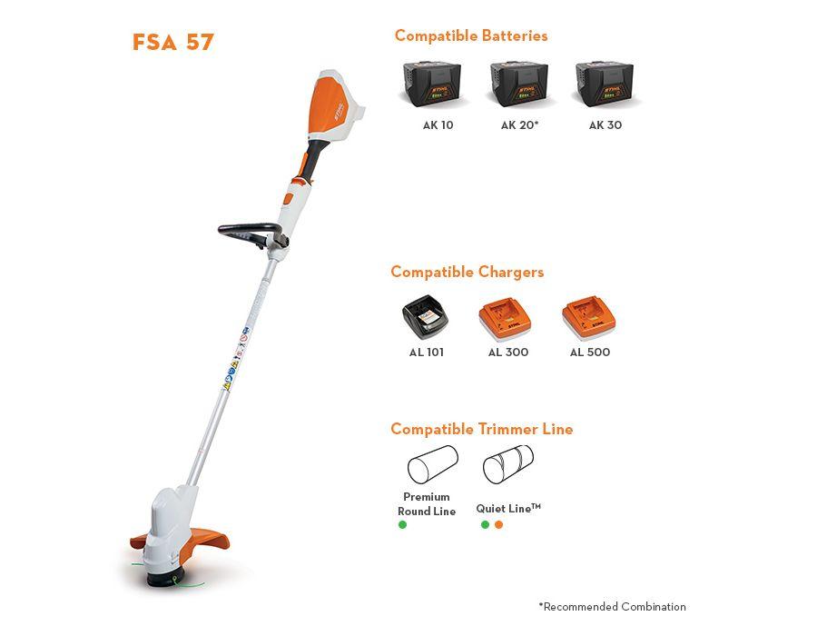 FSA 57 Line Trimmer Information