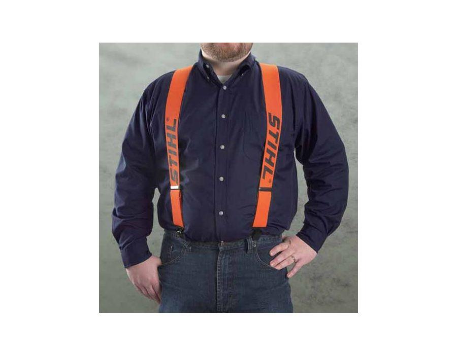 STIHL suspenders are lightweight