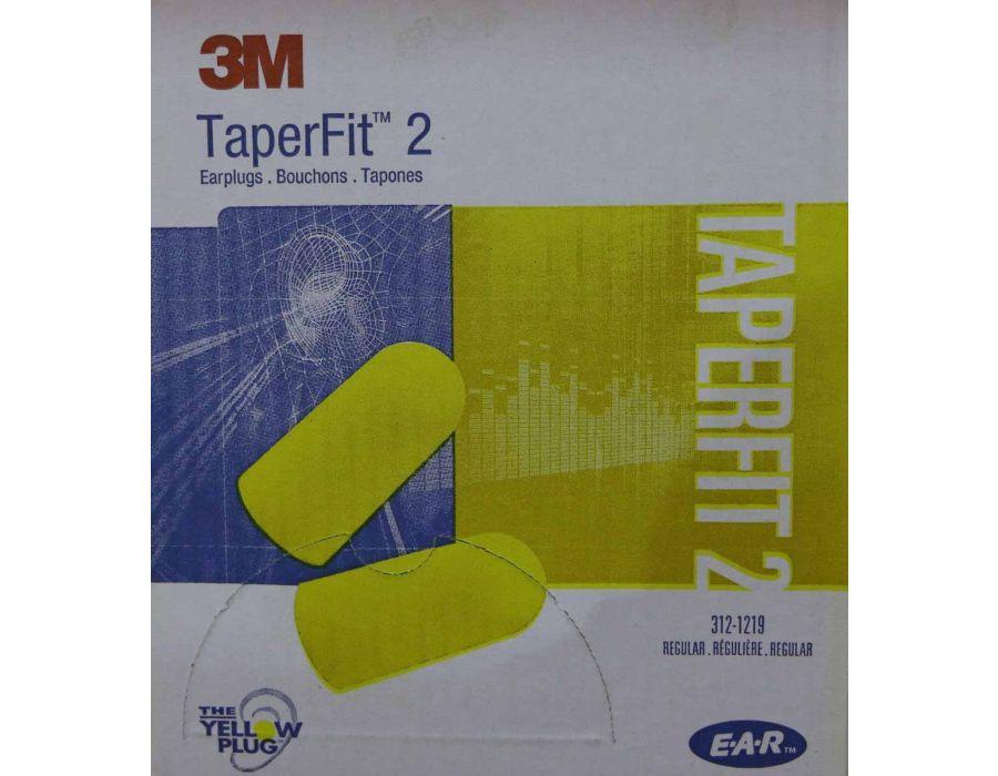 3M TaperFit2 Single-Use Earplugs
