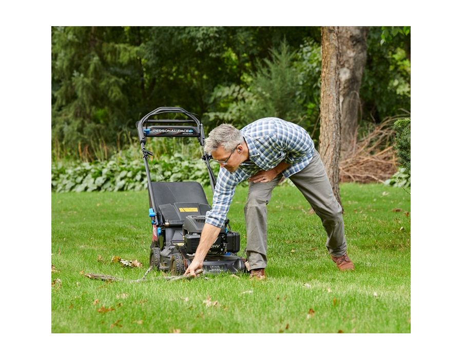 Safety Stop - Step away from your mower without having to restart with Toro's Blade Stop System. The blades stop spinning, but the motor continues to run. A super handy feature when needing to pick up yard debris or when you need to stoop and scoop!