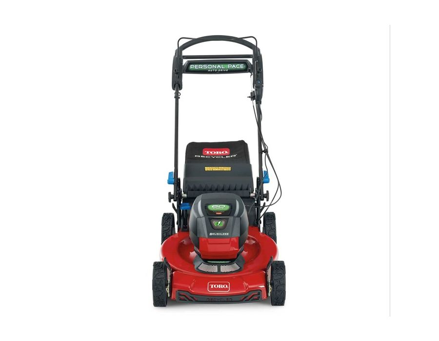 """This Toro 21466 60-Volt* machine starts the first time, every time, and is built to last with a 22"""" steel deck!"""