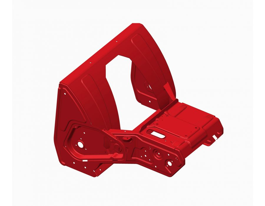 Toro Snowmaster Snowblower Unibody Frame - Added durability with a one piece welded frame