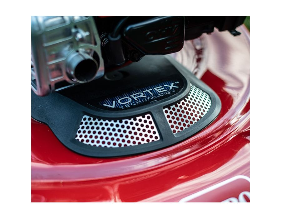 Vortex Technology - More airflow to supercharge your grass cutting.