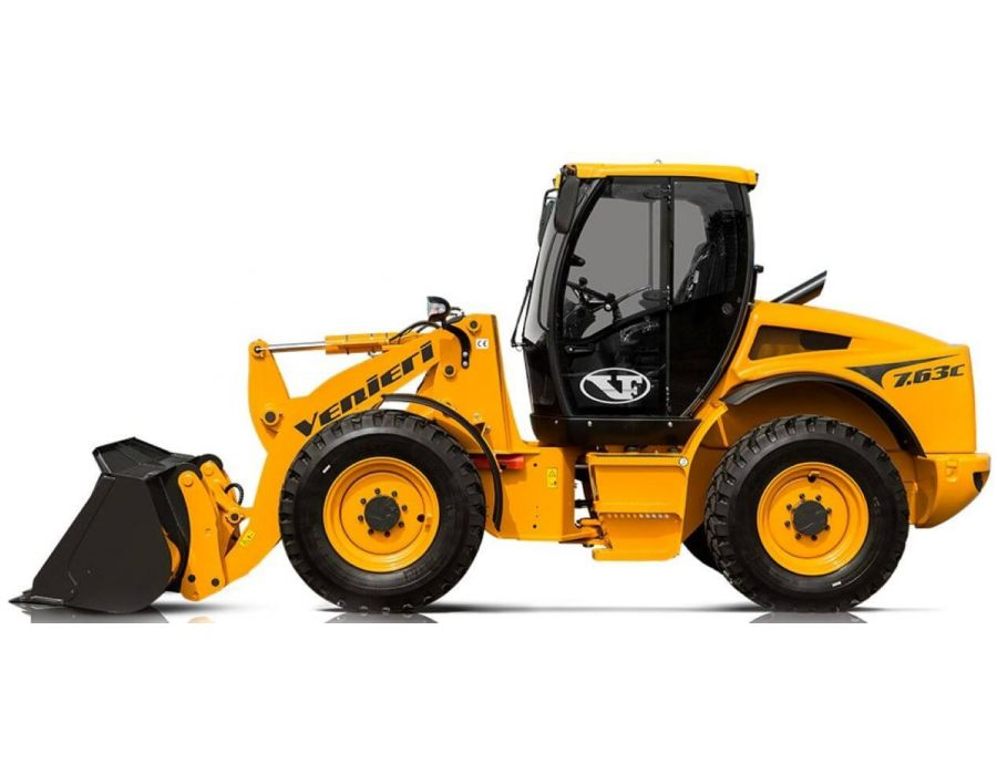 Venieri 7.63C Wheel Loader Side Profile