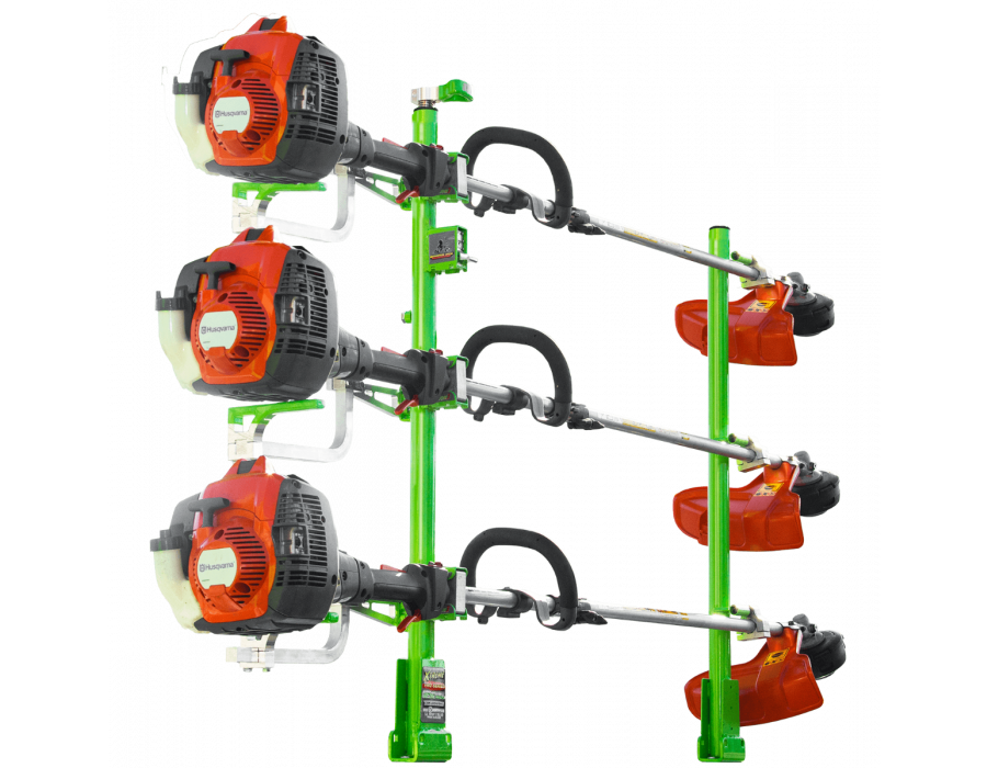 Green Touch Xtreme Series 3 Position Trimmer Rack XB103 For Open and Enclosed Trailers