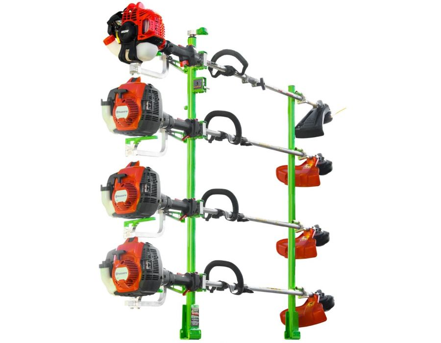 Green Touch Xtreme series 4 Position Line Trimmer Rack XC104 for Open and Enclosed Trailers