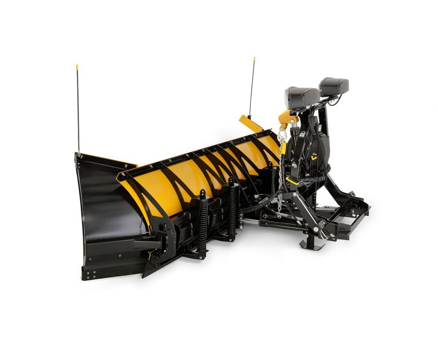 Fisher 8'-10' XLS Expandable Length Plow Side-View