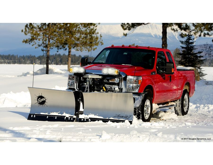 The industry's best protection against wear and rust, the STORM GUARD™ baked-on powder coat with epoxy primer is standard on all FISHER® snow plows.