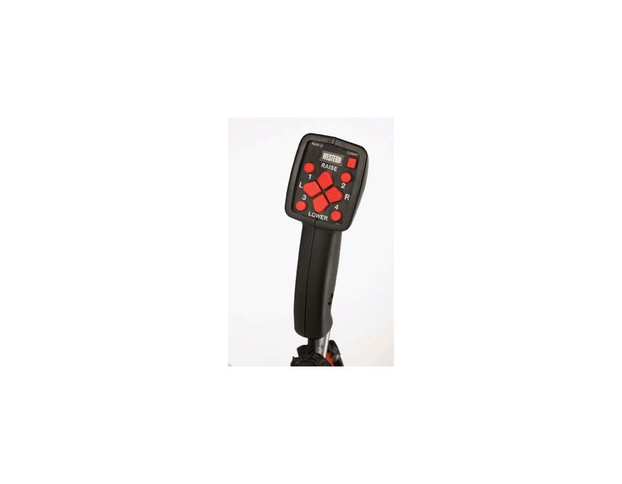Choose between the CabCommand hand-held control option, or the solenoid joystick control