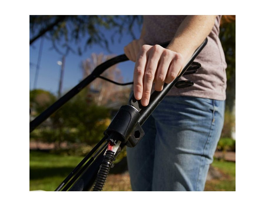 Electric Start - Simply turn the key and you're ready to mow.
