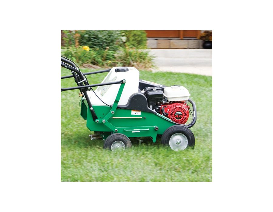"Billy Goat Core Aerator AE 410 19"" Wide model with Briggs & Stratton Engine"