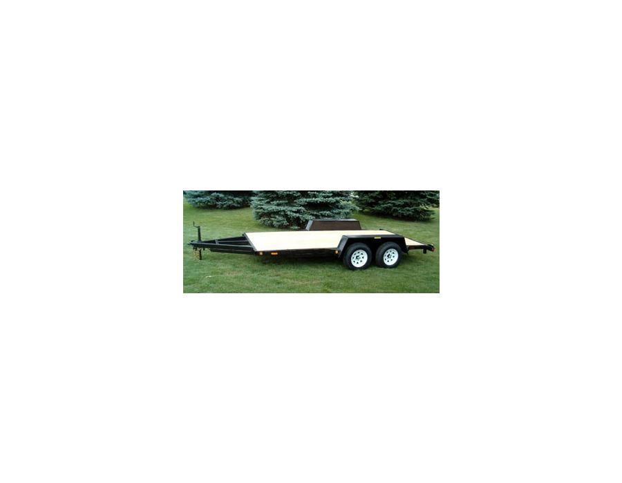 16' tandem all purpose trailer by JDJ
