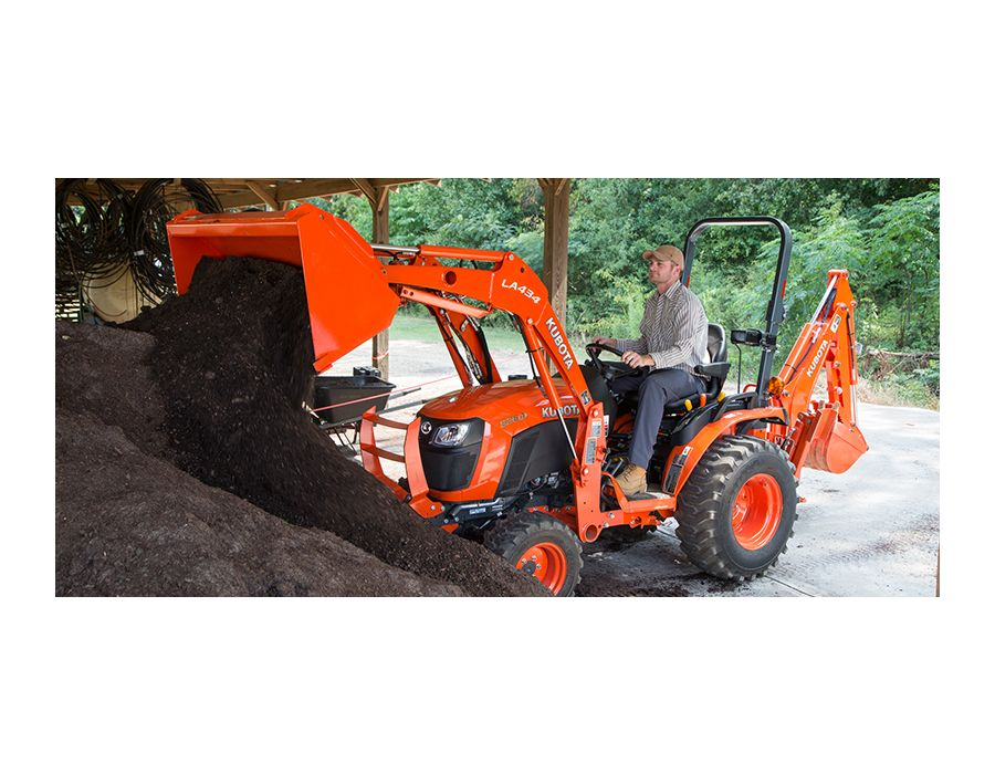 Kubota B2601HSD tractor with loader