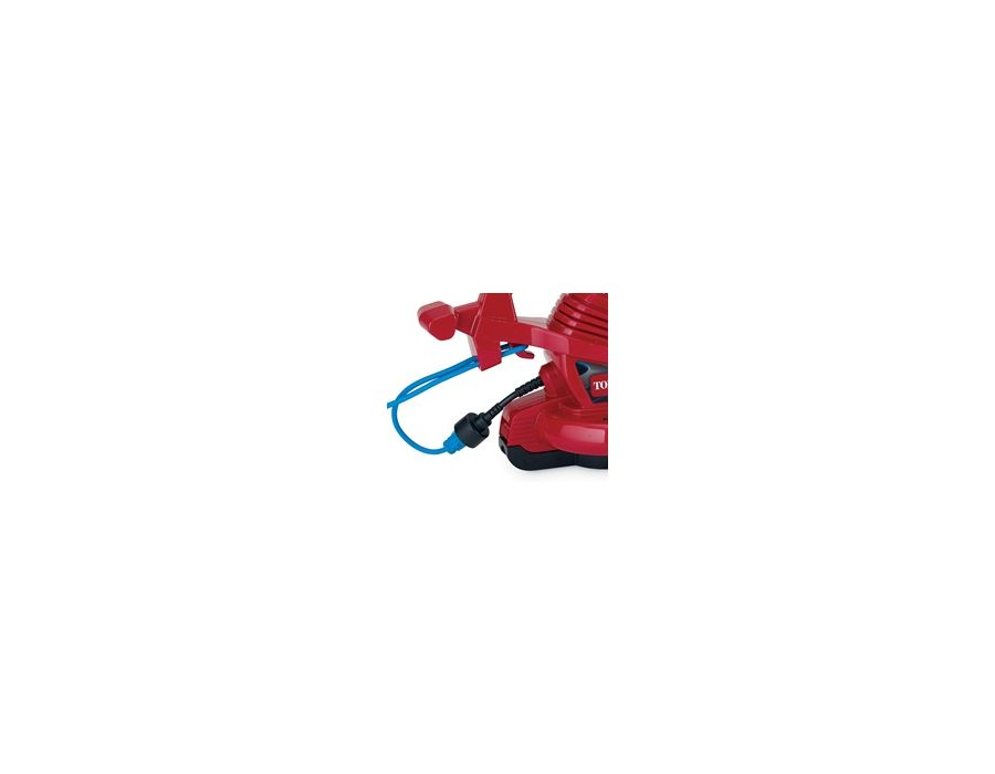 Cord Lock System - Keep the extension cord firmly in place with the built-in cord locking hook