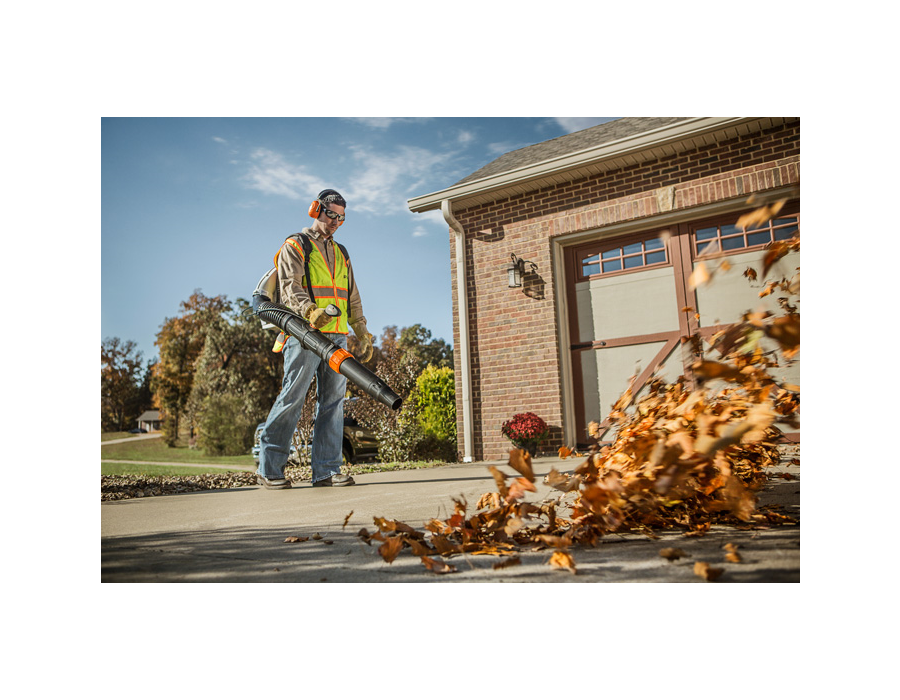 how to start a stihl blower