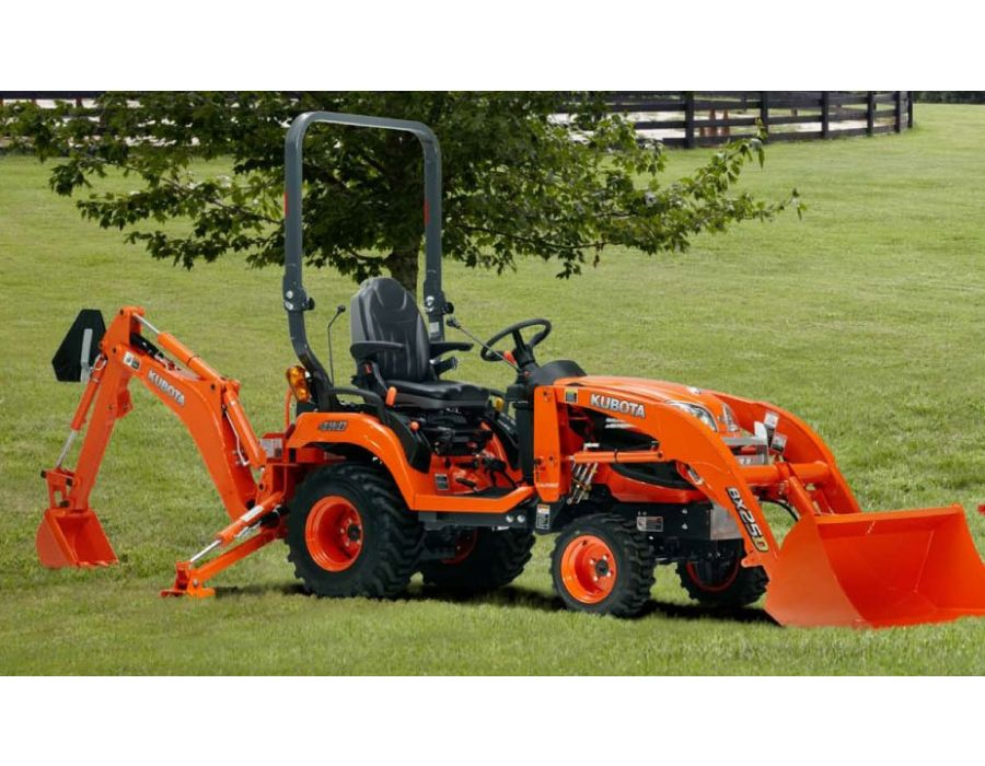 Kubota Bx2360 Accessories : Kubota bx series tractor loader backhoe s hp lawn