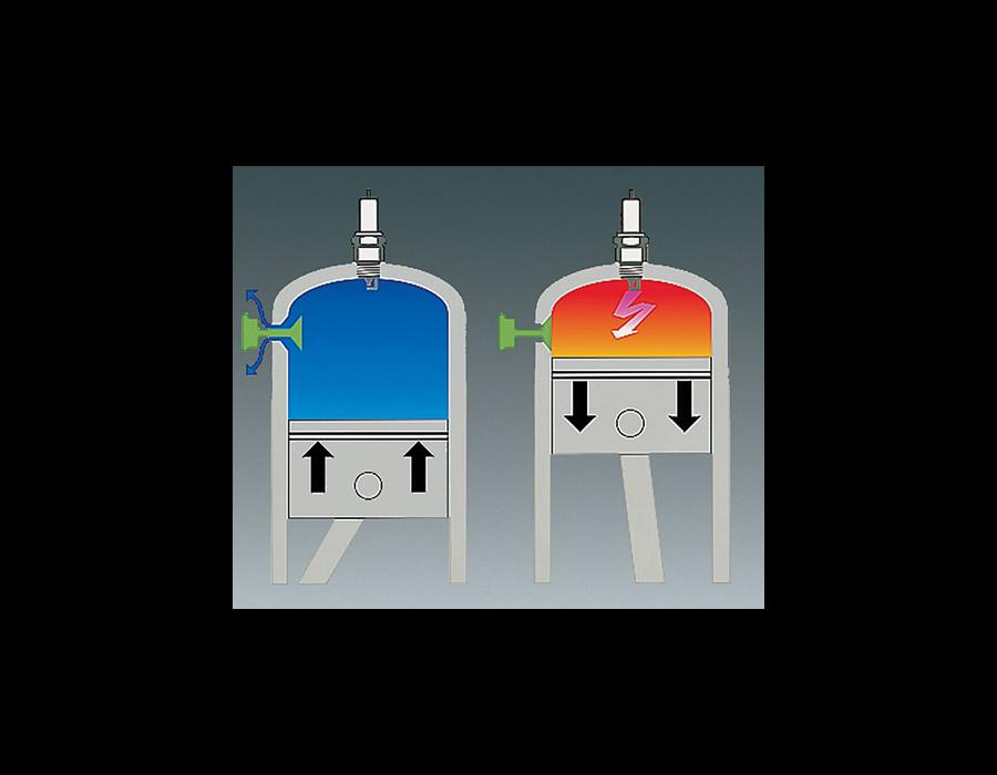 The decompression valve