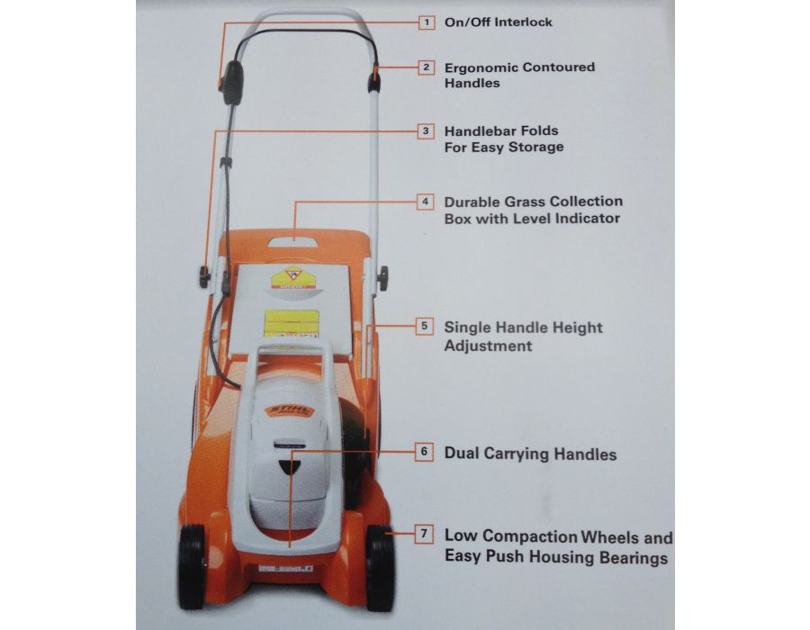 STIHL RMA 370 description of features