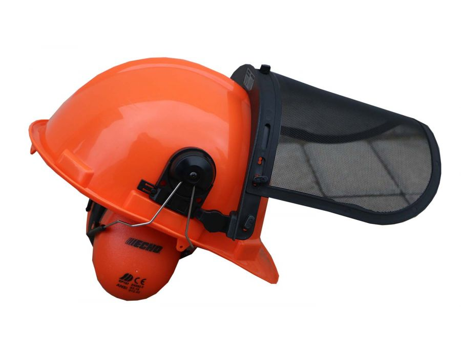 Side View of ECHO Safety Helmet
