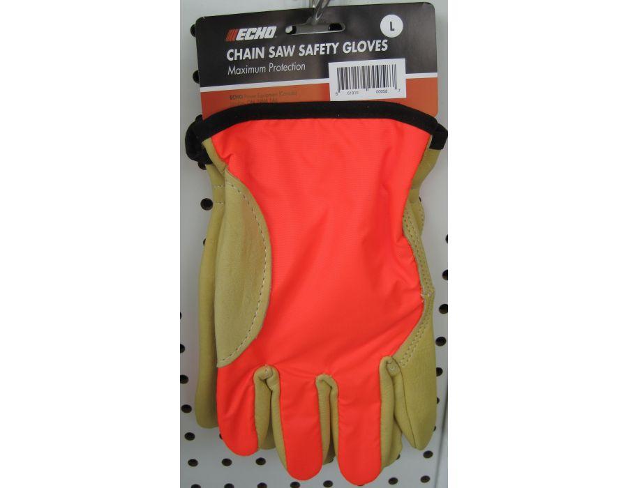 Echo chain saw saftey gloves