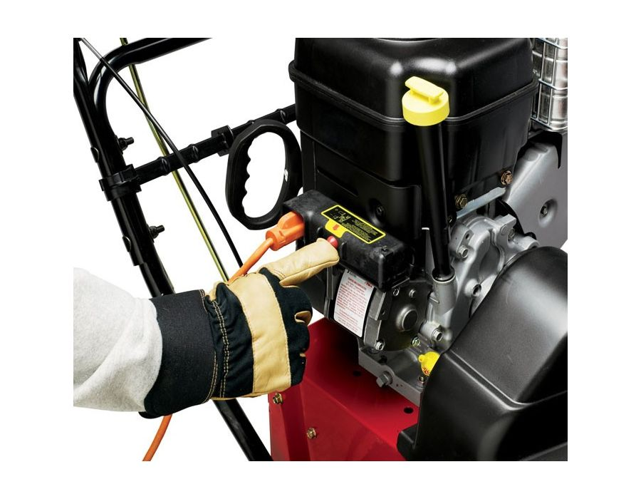 Electric Start - For hot starts on the coldest days, each Toro two-stage snow blower comes equipped with both electric start and a recoil mitten grip start for added peace of mind.