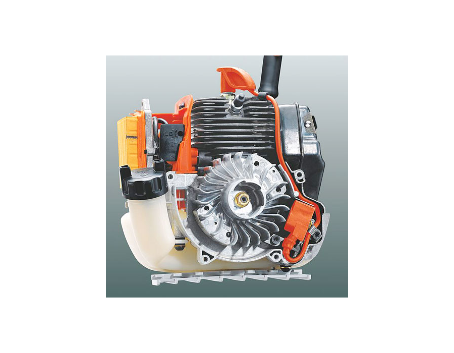 The electronic ignition provides reliable starting and because it is fully enclosed, it is protected from moisture and debris for longer service life