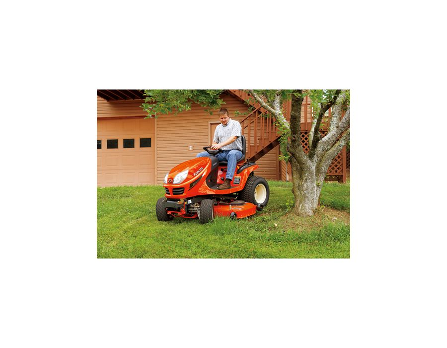 the most maneuverable and powerful lawn and garden tractor Kubota ever built